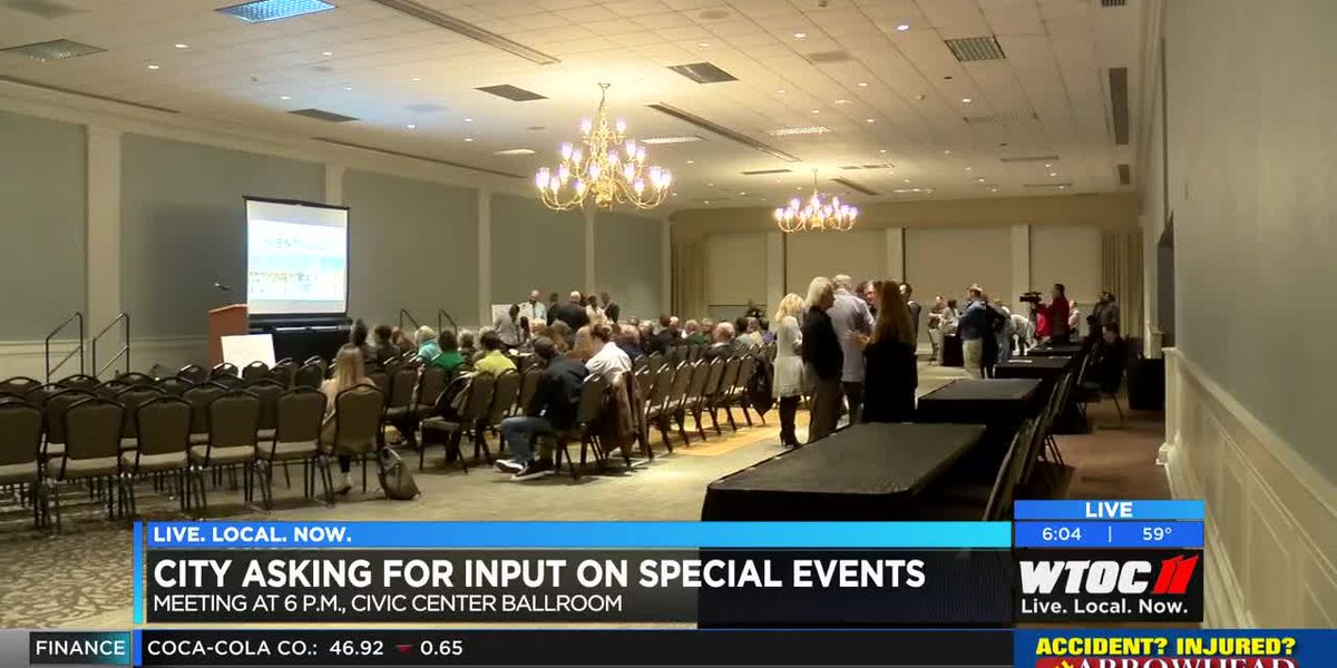City of Savannah asking for input on special events