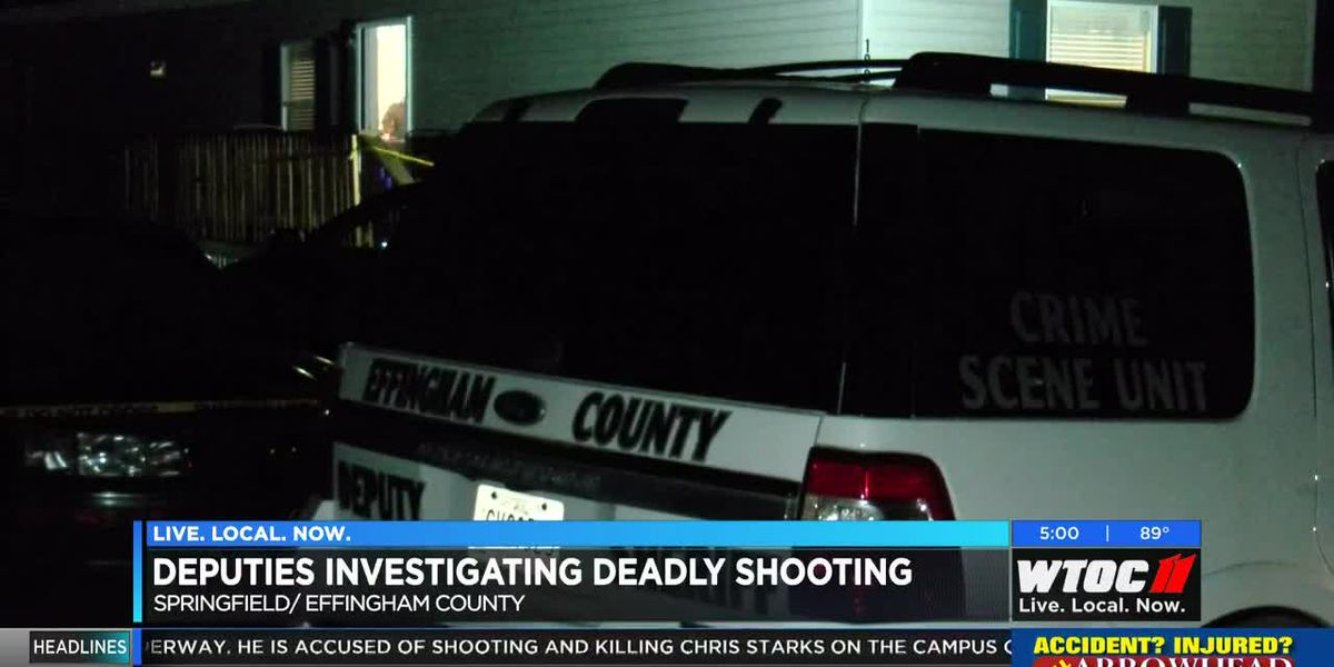 Deadly shooting under investigation in Effingham County