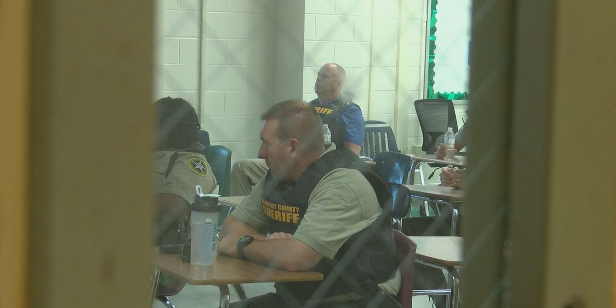First responders holding active shooter training at Battery Creek High School
