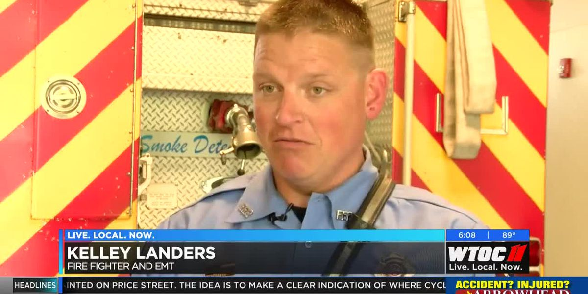Burton firefighter helps save life while on vacation in France