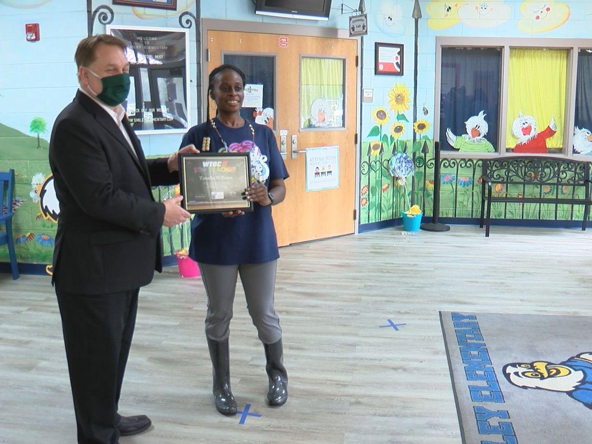 Top Teacher: Tamelia Williams