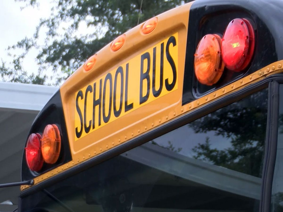 Beaufort County school bus involved in crash with vehicle on Simmonsville Rd in Bluffton