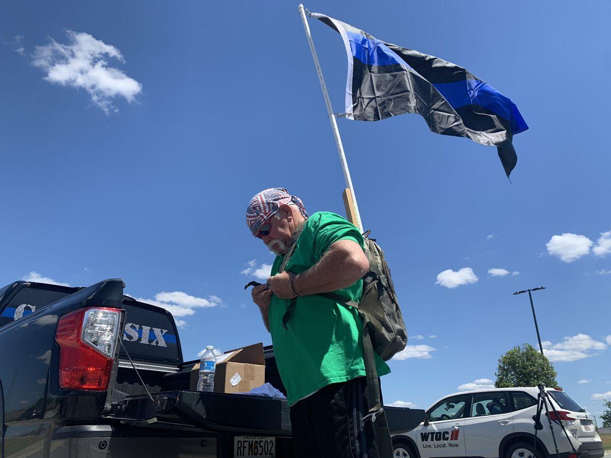 Statesboro man to walk 50 miles to honor law enforcement