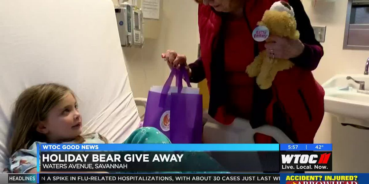 Good News: Holiday bear giveaway at Children's Hospital