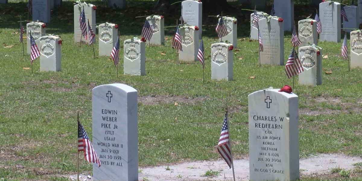 Beaufort National Cemetery cancels Memorial Day events