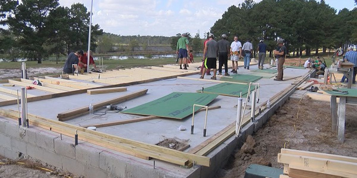 First cabin on 7th Mile Farm being built to help at-risk youth in Bulloch Co.