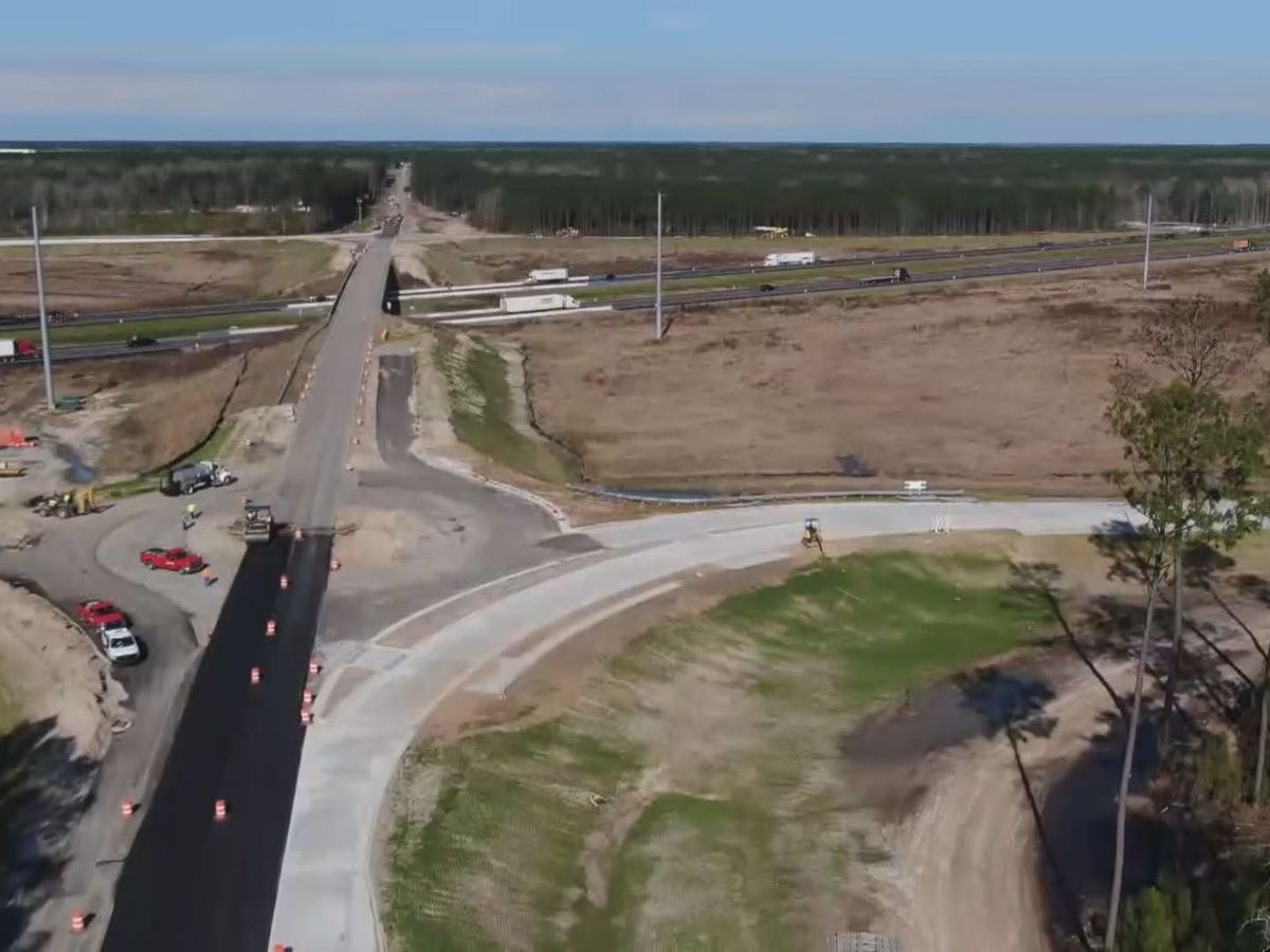 Belfast Keller Rd. interchange opens to traffic