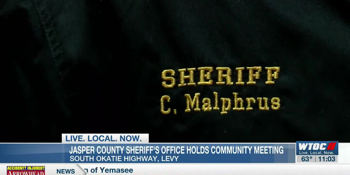 Jasper Co. Sheriff's Office holds community meeting to discuss future plans