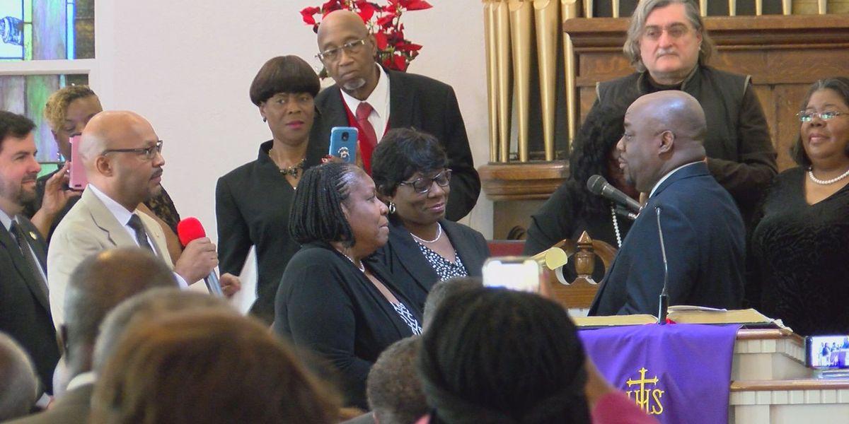 Van Johnson sworn in as Savannah mayor during Emancipation Proclamation service