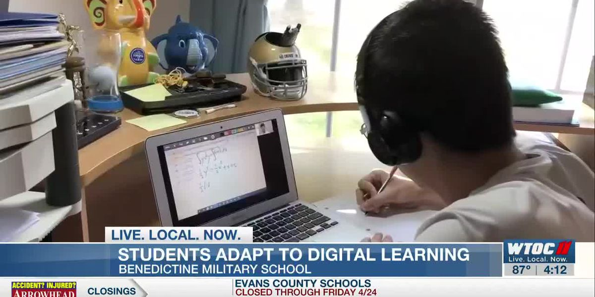 Benedictine cadets adapt to digital learning