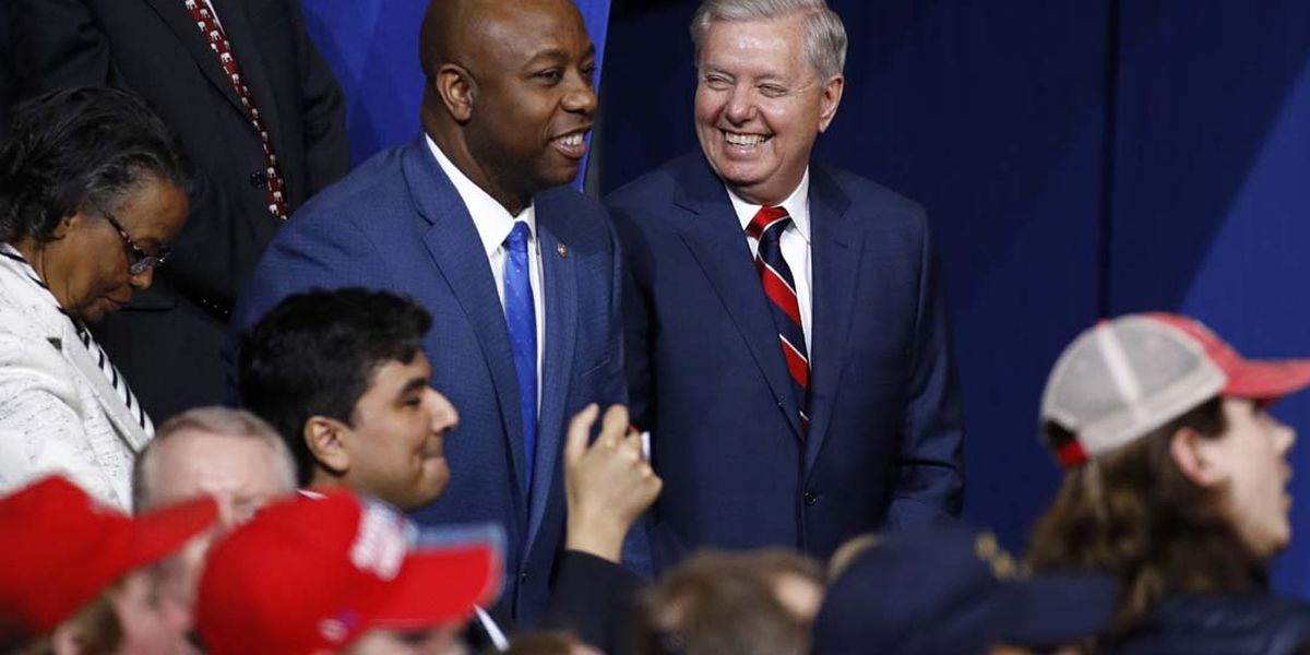 Sens. Tim Scott, Lindsey Graham to serve on Presidential Task Force for reopening the economy