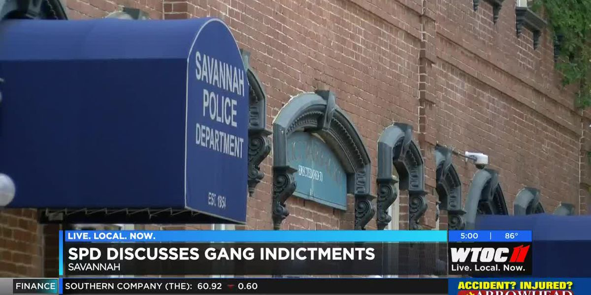 Savannah PD announces multiple gang indictments