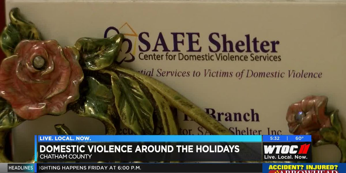 Domestic violence officials cautioning citizens to be extra vigilant during holidays