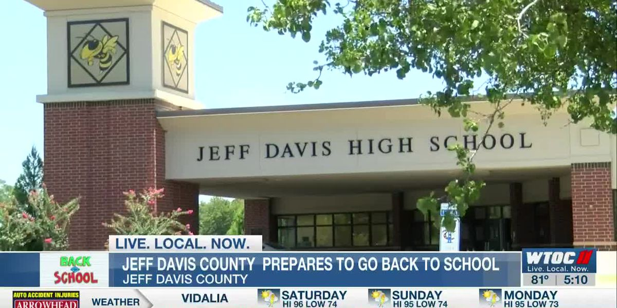 Jeff Davis Co. School District ready to welcome back students for 2020-21 school year