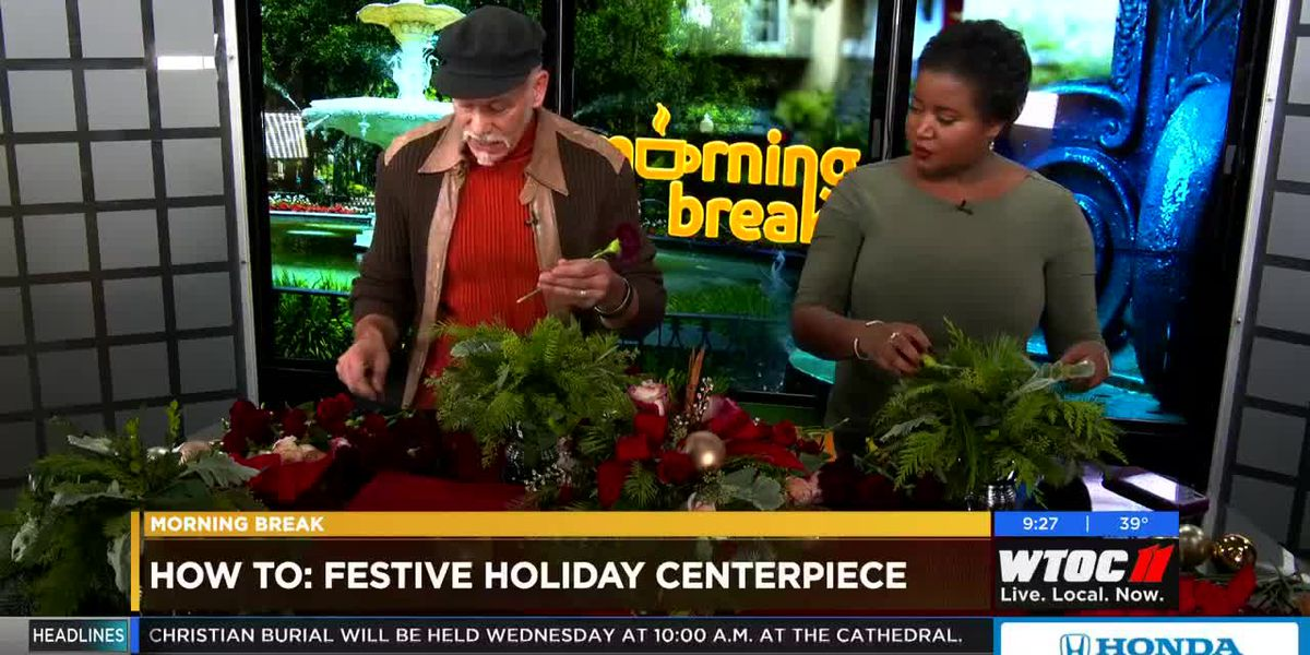 How to make a festive holiday centerpiece