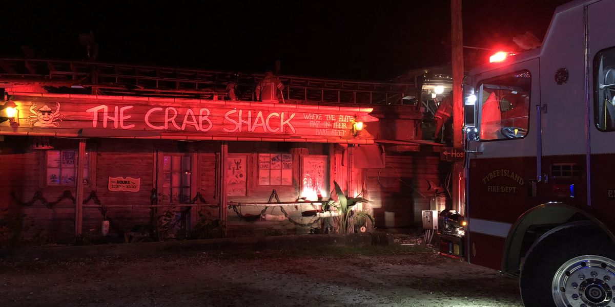 Firefighters respond to small fire at the Crab Shack on Tybee Island