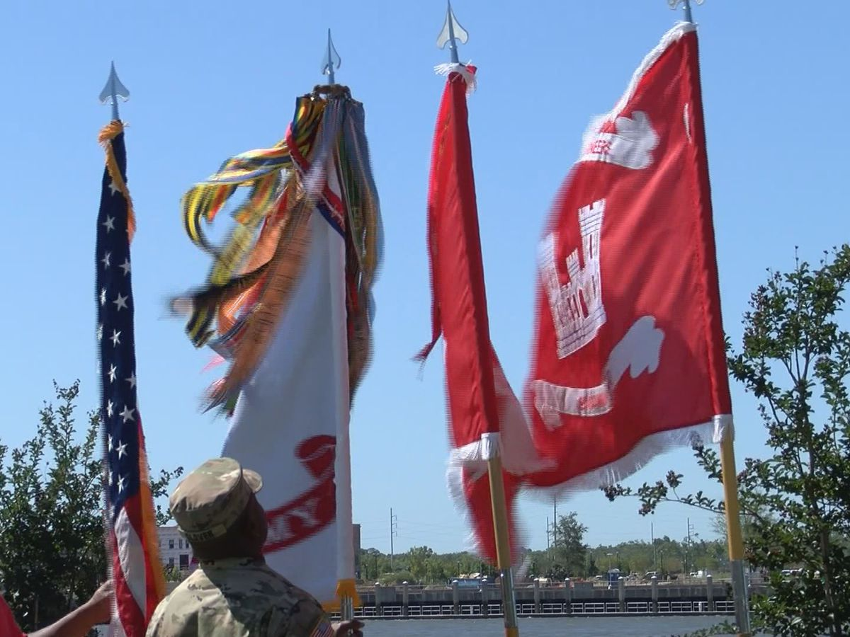 Change of command at Savannah District of Army Corps of Engineers