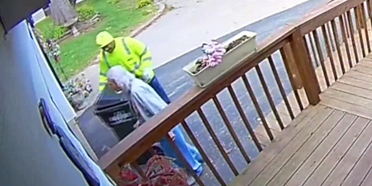 Woman, 88, fell retrieving her trash can, so a sanitation worker does it for her now