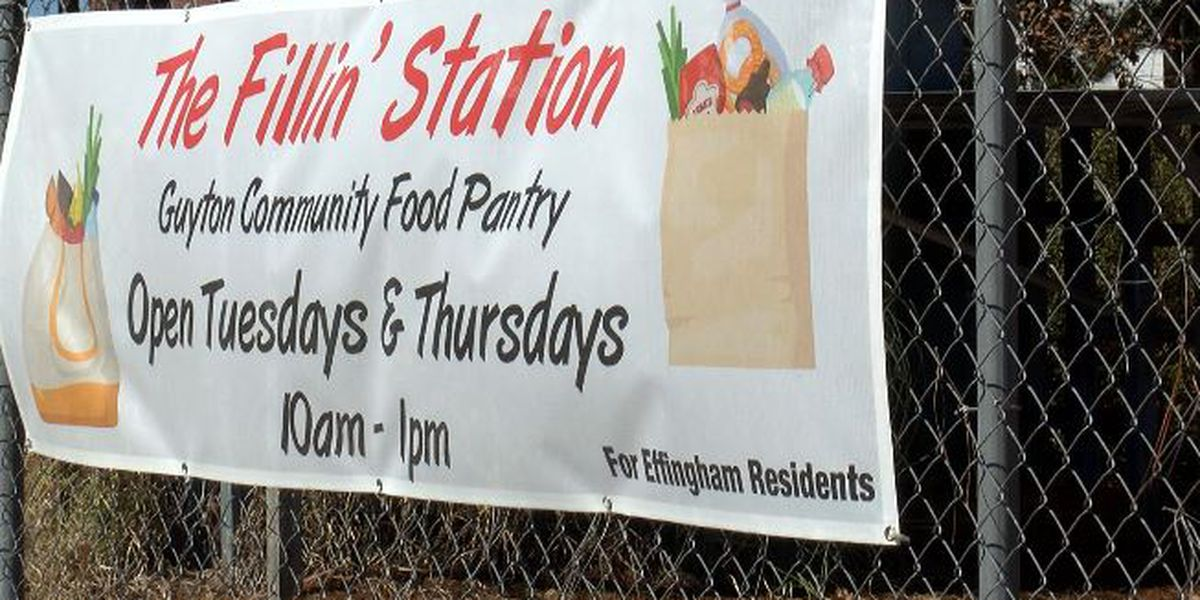 Small pantry plays big role in supporting those in need in Effingham Co.