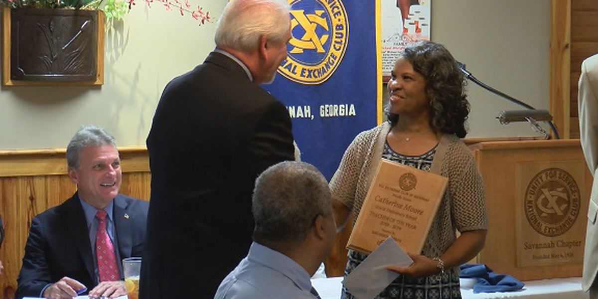 Grainger Nissan Teacher of the Year Award presented to Gould Elementary teacher