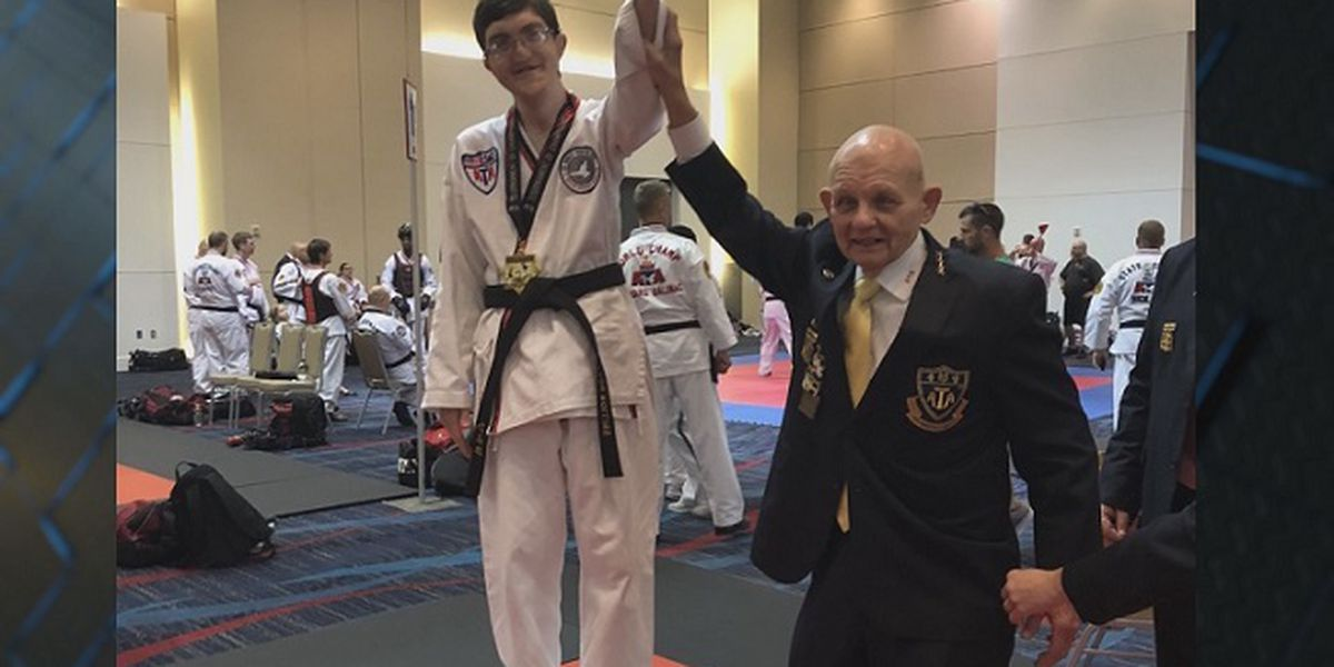 Tae Kwon Do student from Bulloch County becomes world champion
