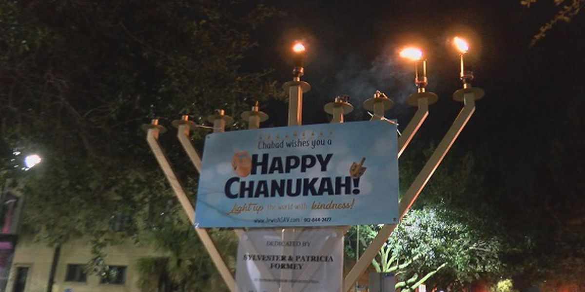 City of Savannah celebrates Hanukkah