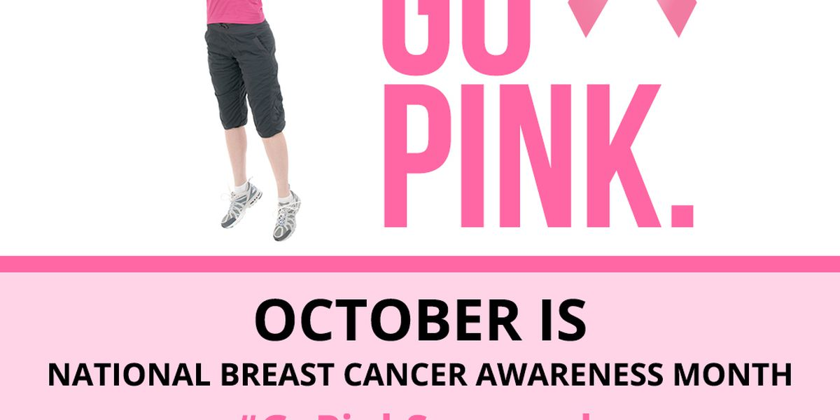 #GoPinkSavannah: October is breast cancer awareness month