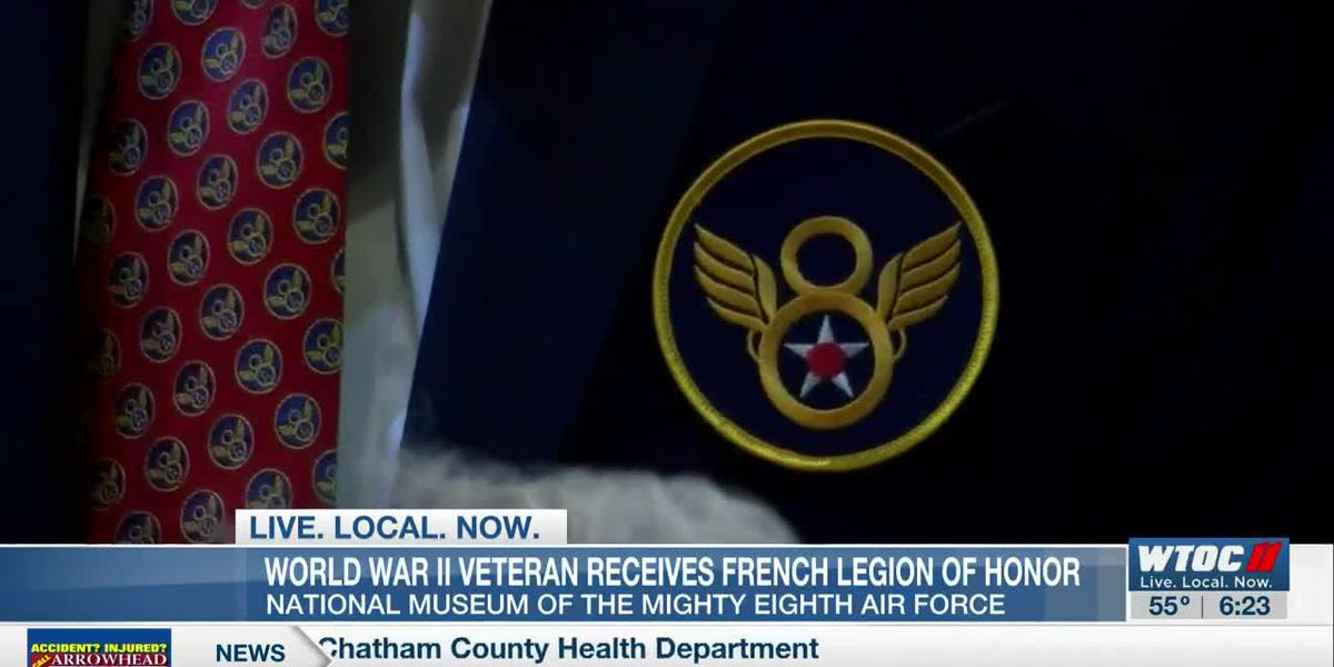 WWII veteran receives French Legion of Honor at National Museum of the Mighty Eighth Air Force