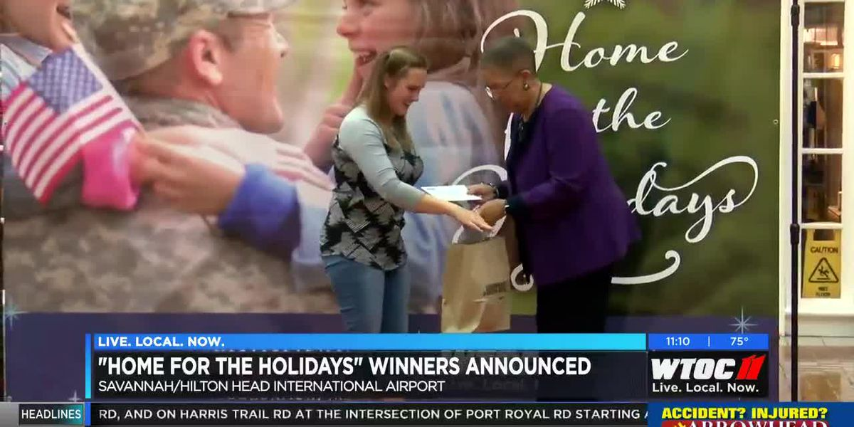 7 winners announced for the 'Home for the Holidays' contest