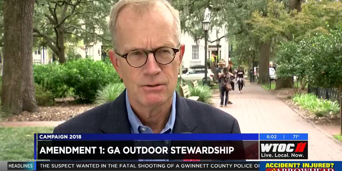 What is Georgia's Outdoor Stewardship Amendment?