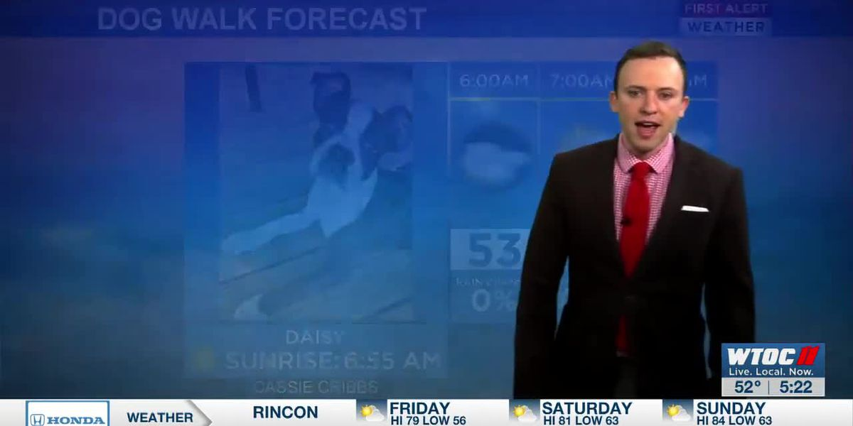 VIDEO: Warm weather this weekend!
