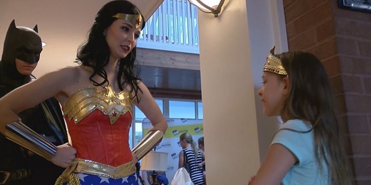 Superheroes help raise money for Ronald McDonald House
