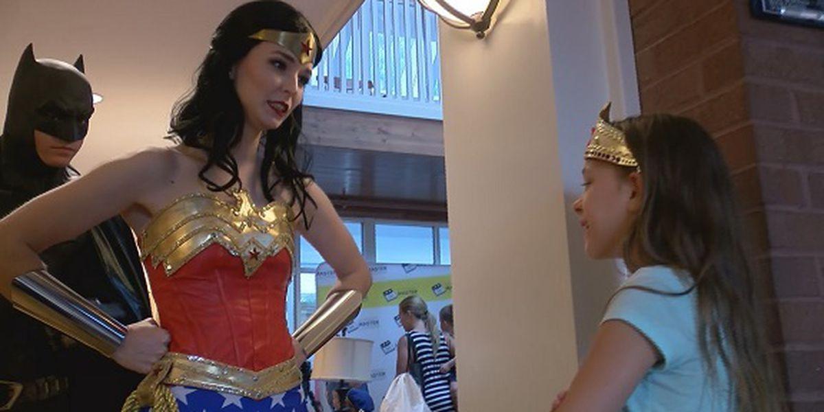 Superheroes help raise money for Ronald McDonald House