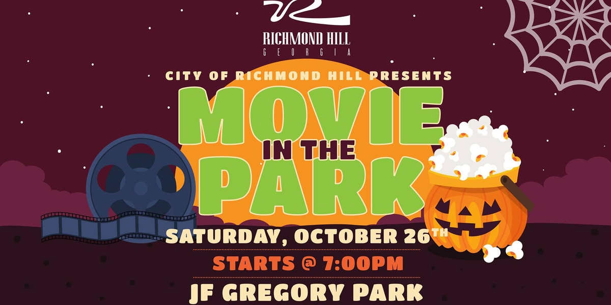 Treats and a movie at J.F. Gregory Park in Richmond Hill