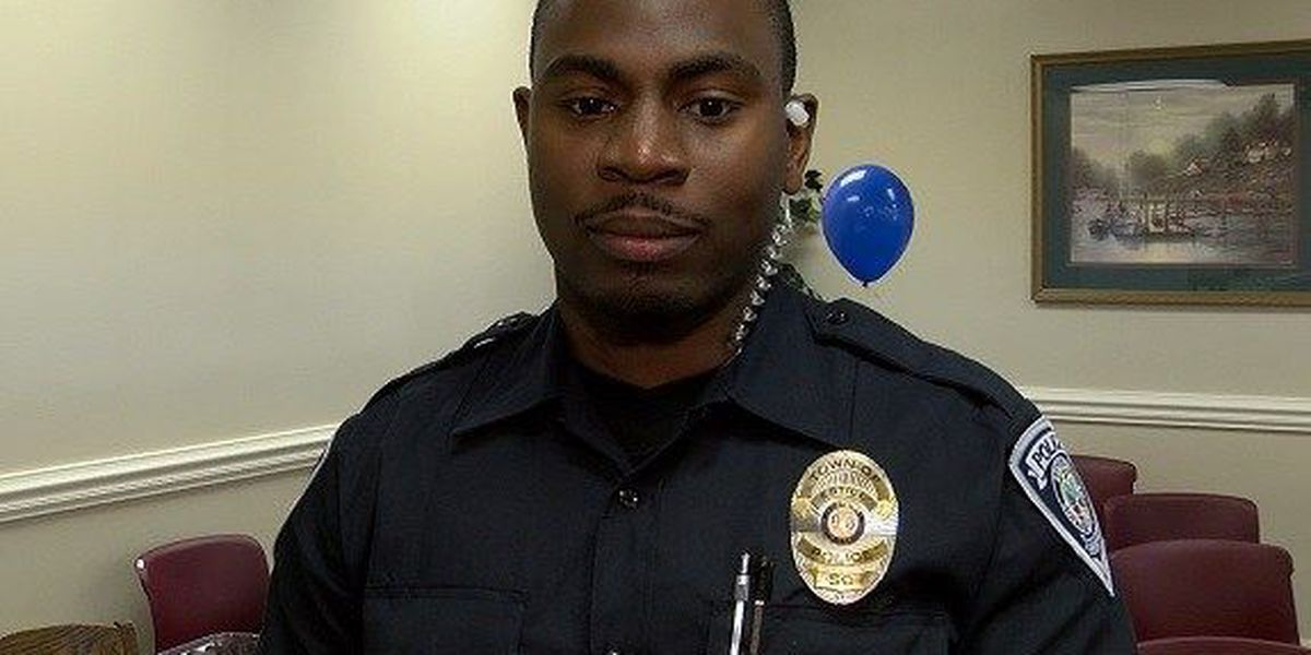 Estill police officer returns to work after being shot on New Year's Day in 2016