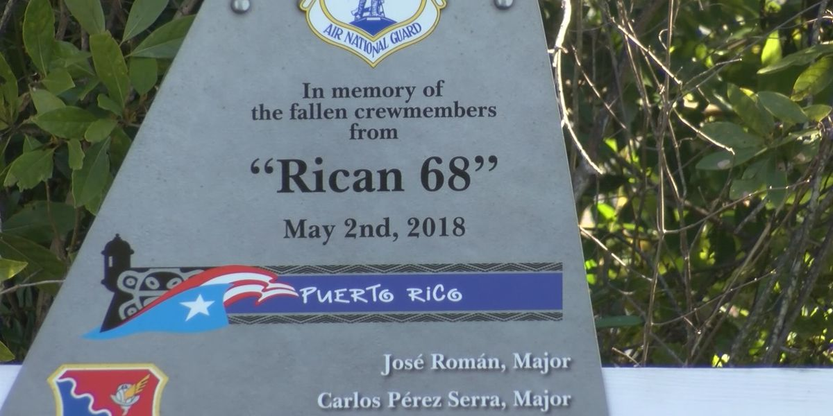 Port Wentworth ceremony honors airman lost in C-130 crash