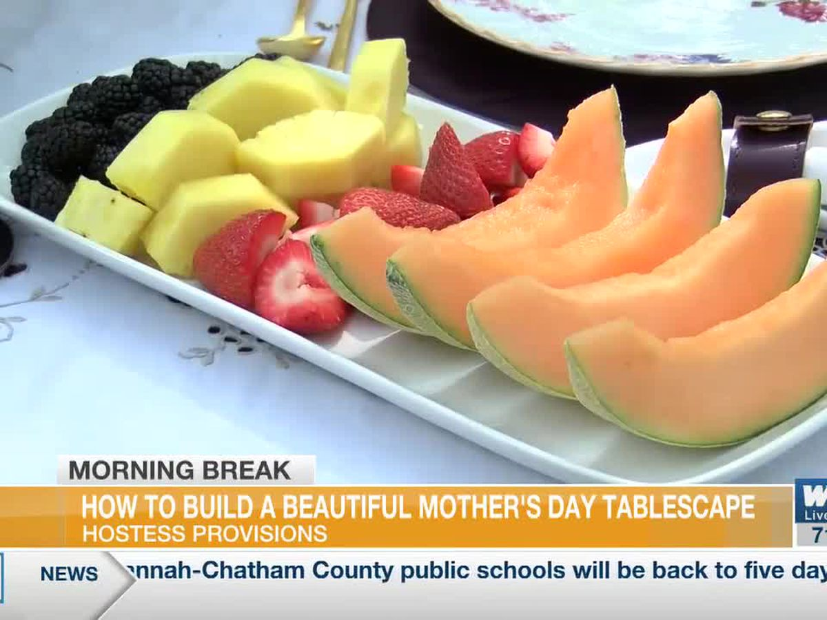How to build a tablescape to celebrate Mother's Day