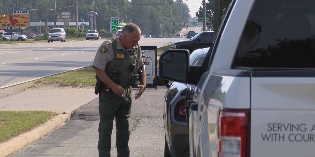 Statesboro law enforcement works distracted driving sweep