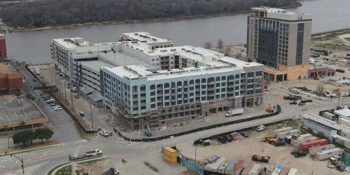 Incredible progress on Eastern Wharf construction one year after massive fire
