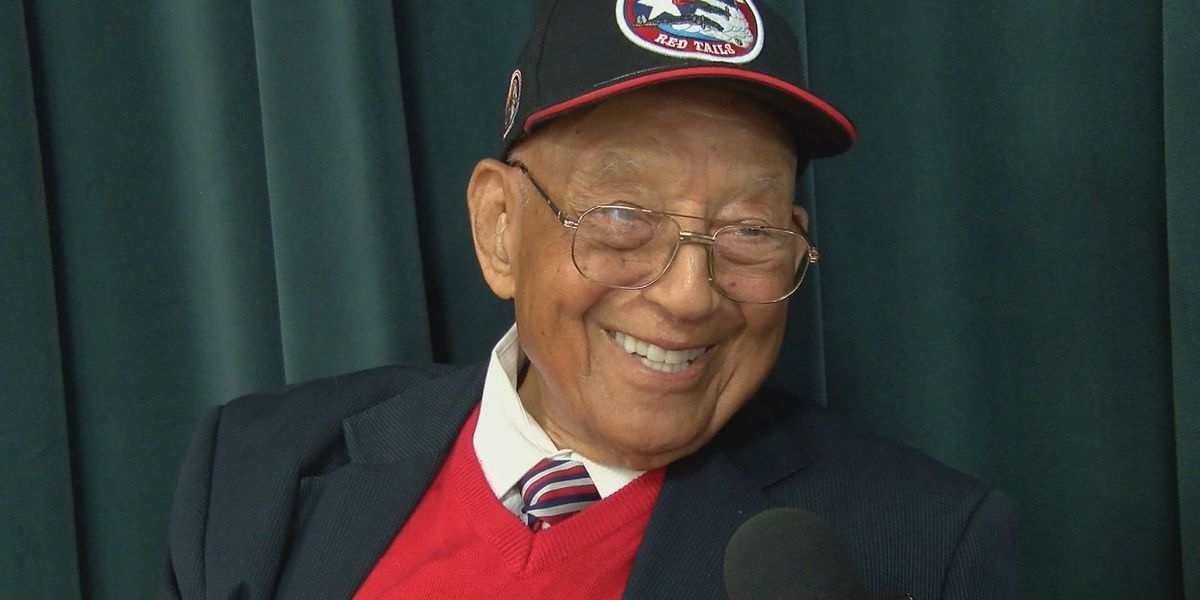 Good News: Tuskegee Airman shares life lessons with Pooler students