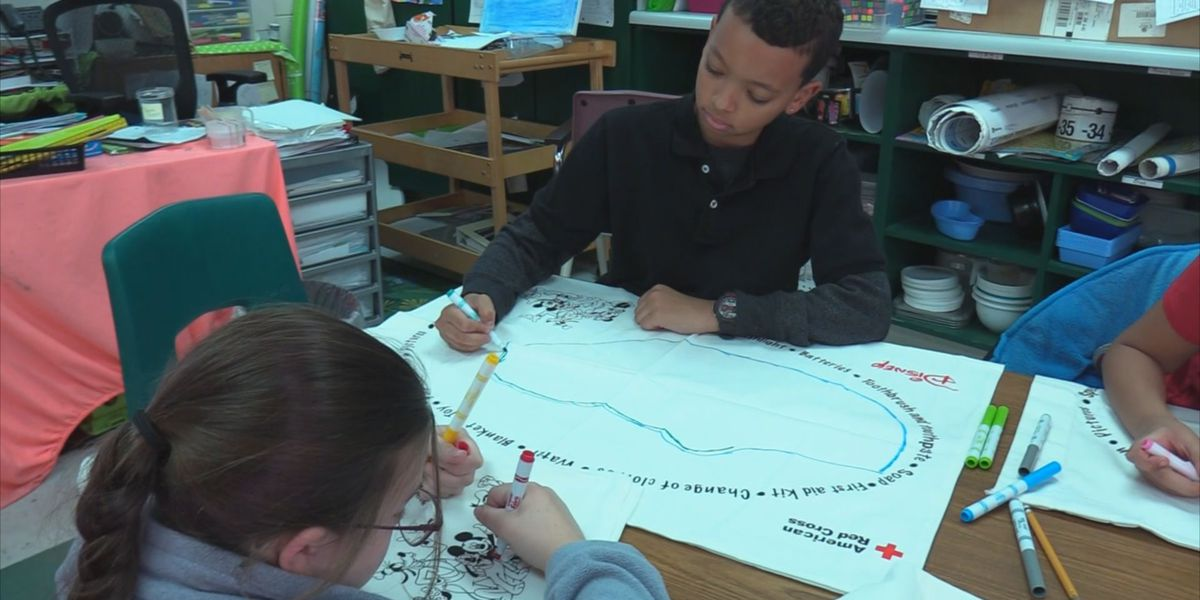 American Red Cross helps prepare Lowcountry students for disasters with 'Pillowcase Project'