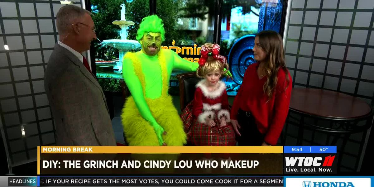 Christmas on the River with The Grinch & Cindy Lou Who