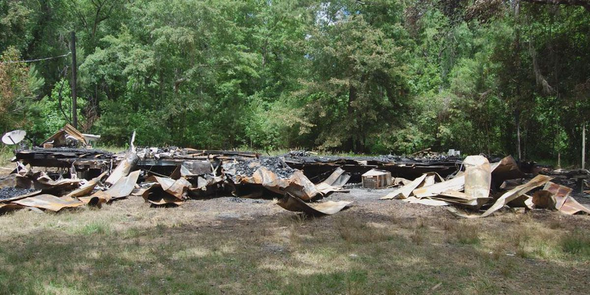 McIntosh County mobile home fire ruled arson