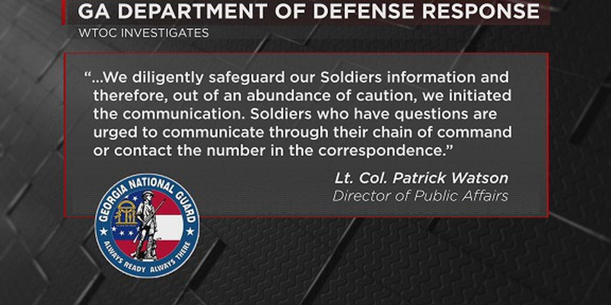 Lost equipment possibly puts soldiers' personal info in jeopardy