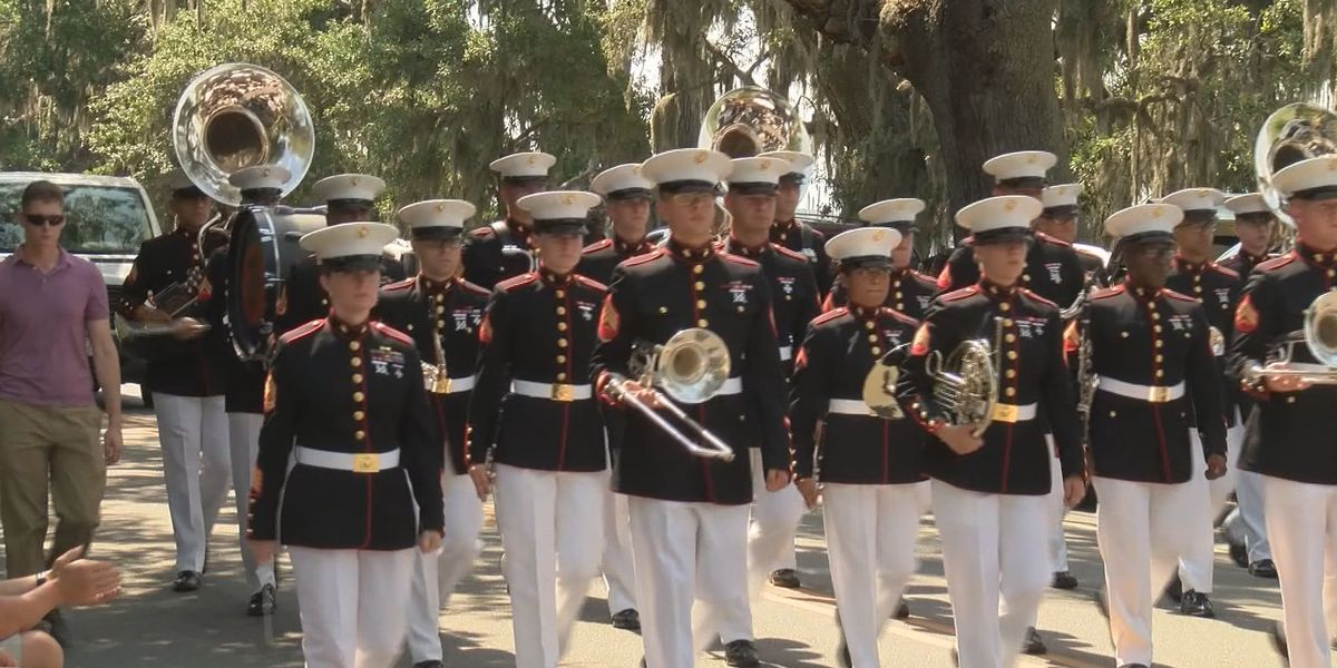City of Beaufort honors veterans on Memorial Day with parade, ceremony