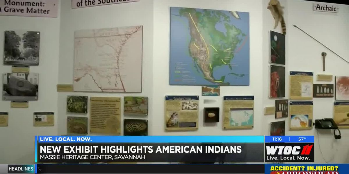 Massie Heritage Center's new exhibit highlights American Indians