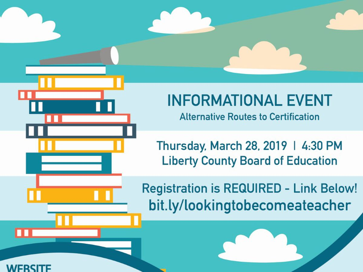 Liberty Co. Board of Education to hold teacher informational meeting