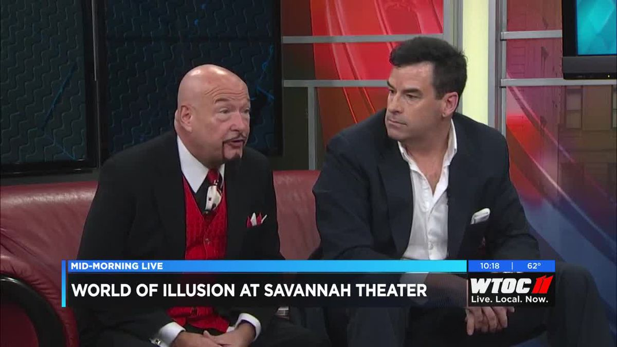 World of Illusion comes to Savannah Theater beginning February 21, 2019