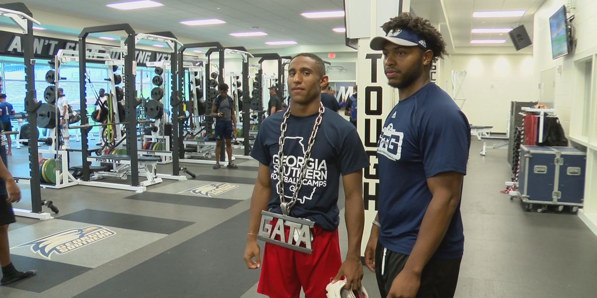 Georgia Southern Football holds camp for the next generation of Eagles