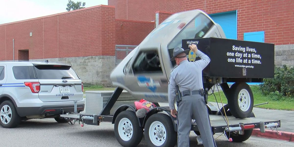 Troopers, firefighters show dangers of the roadway to Lowcountry students